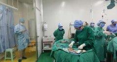 家属现场参观手术就是好-腺肌症手术中图片